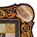 Arte Decorativa di Fiordelisi Simone: Tavoli, Arabescato sagomato