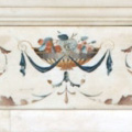 Arte Decorativa di Fiordelisi Simone: Objects, Inlaid marble fireplace