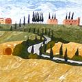 Arte Decorativa di Fiordelisi Simone: Images, Paysage de Toscana
