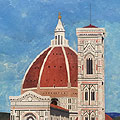 Arte Decorativa di Fiordelisi Simone: Quadri, Panorama di Firenze