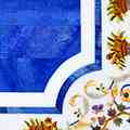 Arte Decorativa di Fiordelisi Simone: Tavoli, Cornucopie su bianco